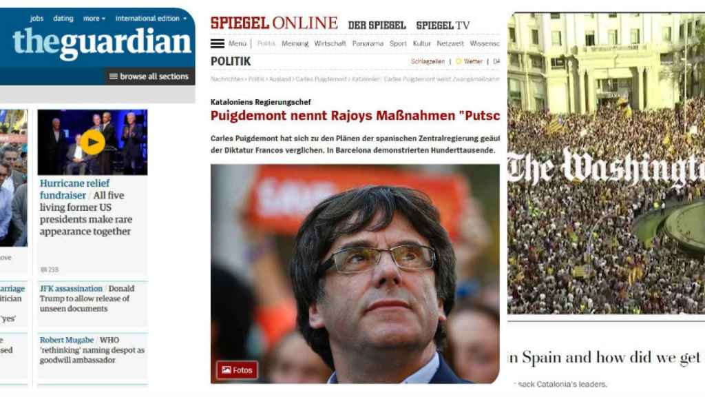 The Guardian, Der Spiegel y Washington Post.