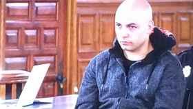 Sergio Morate durante el juicio en la Audiencia de Cuenca.