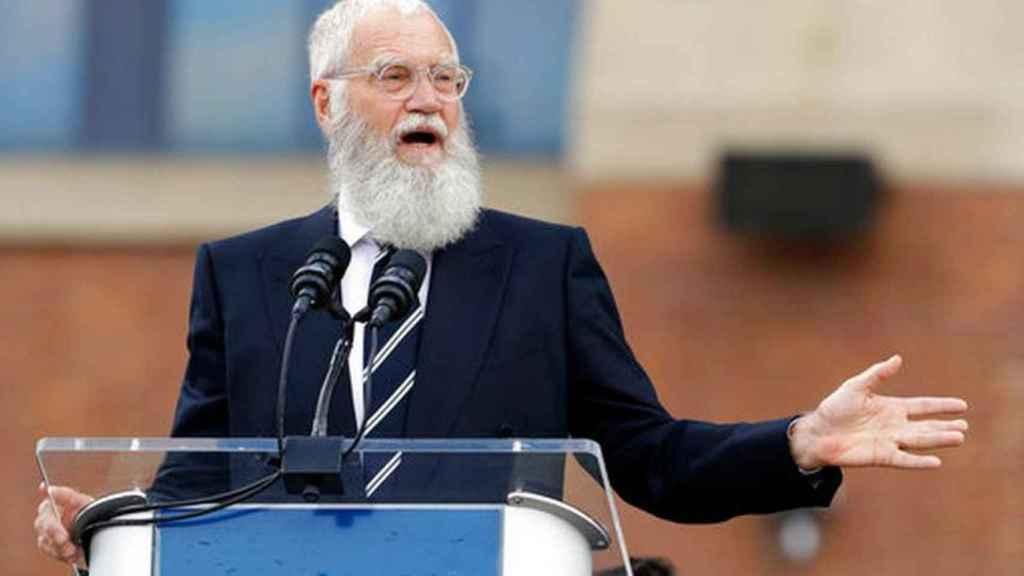 David Letterman recibe el Premio Mark Twain. Getty.