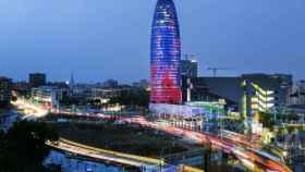 La Torre Agbar en una foto de archivo.
