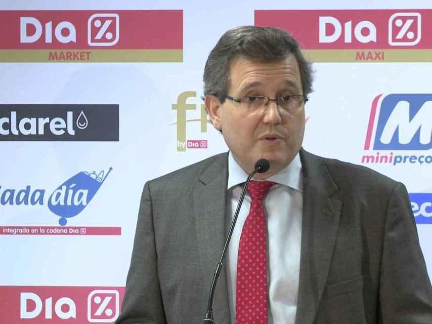 Ricardo Curras, consejero delegado de Dia.