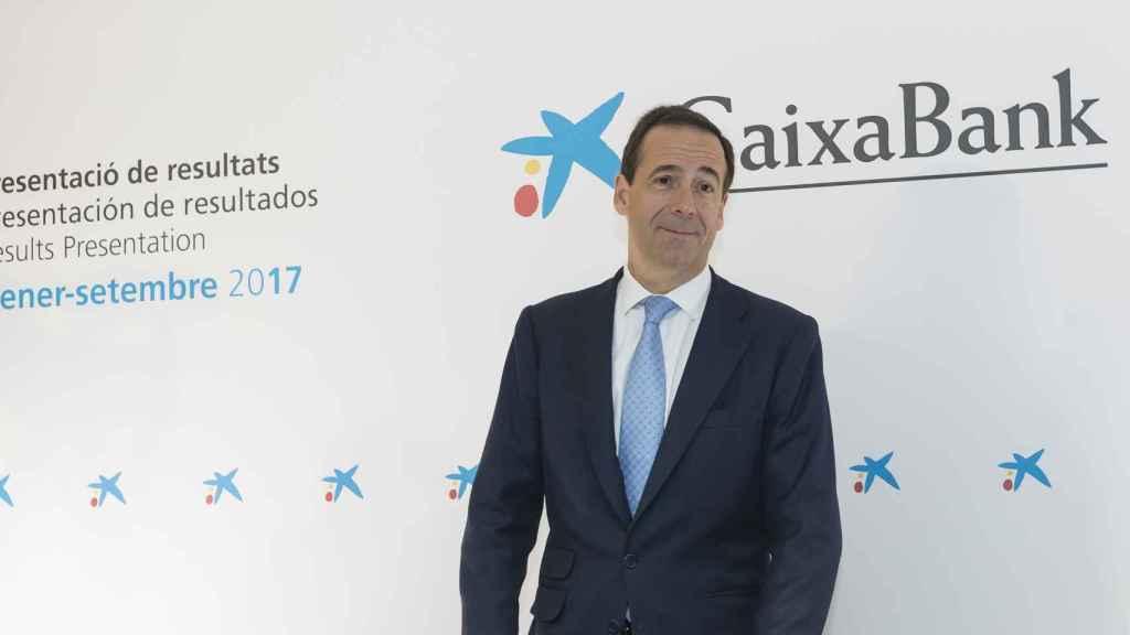 Gonzalo Gortázar, consejero delegado de CaixaBank.