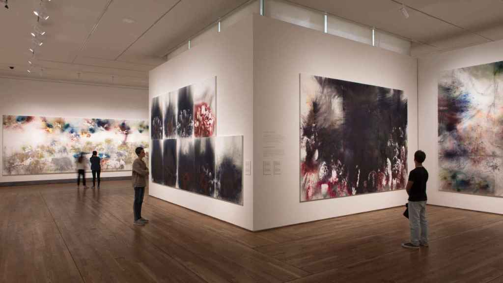 Vista de la exposición del Prado.
