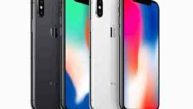 apple iphone x delantera trasera gris espacial plata