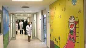 pasillo-pediatria-rio-hortega-valladolid