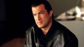Seagal, en 1988, cuando rodó la película 'Por encima de la ley'.