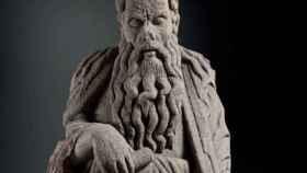 El Congreso reclama la devolución de dos esculturas del Pórtico de la Gloria.