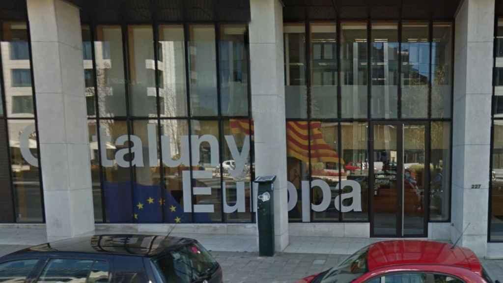 Embajada de Cataluña en Bruselas.