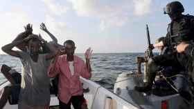 Captura de piratas en el golfo de Adén (Somalia)