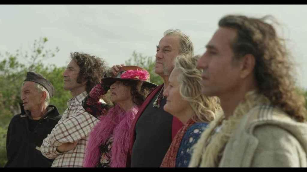 Los hippies supervivientes de Ibiza.