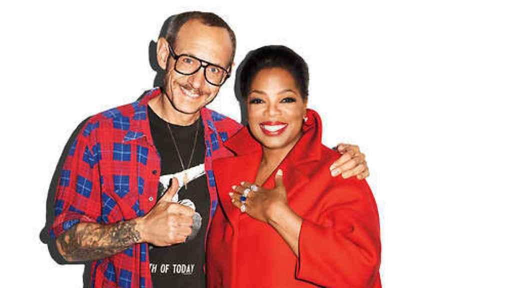 Con Oprah.
