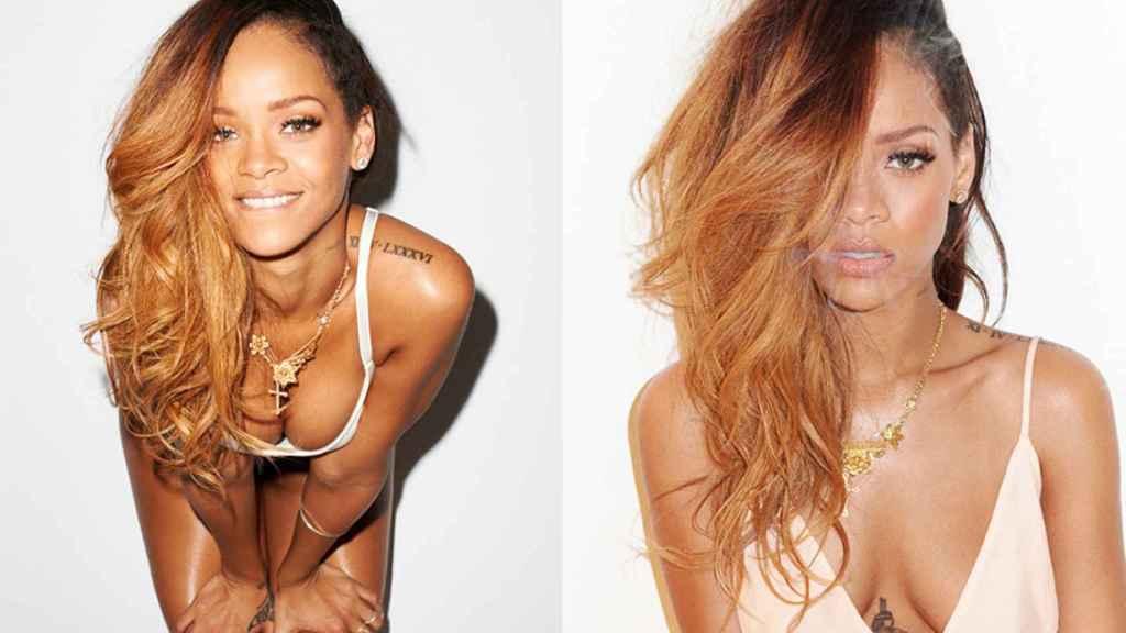 Rihanna fotografiada por Terry Richardson.