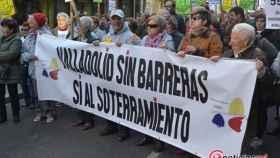 manifestacion pilarica soterramiento pp valladolid 2