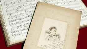 La partitura manuscrita de Shiava e Regina.