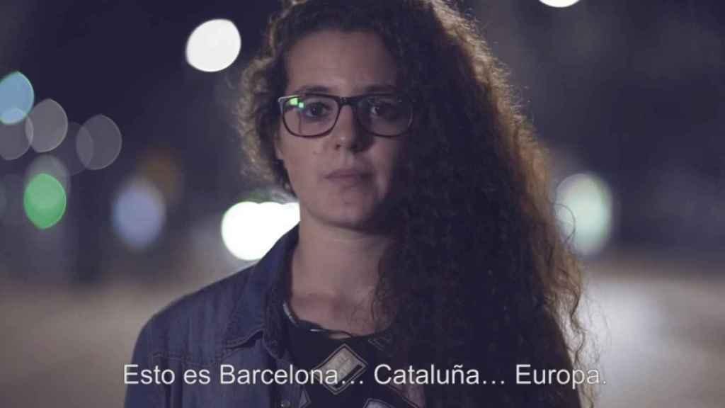 Fotograma del vídeo de Societat Civil catalana.