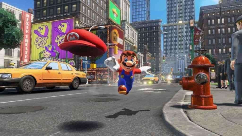 Fotograma del videojuego Super Mario Odyssey.