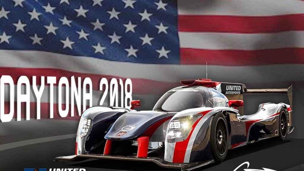 Así será el coche de Alonso en las 24 Horas de Daytona.