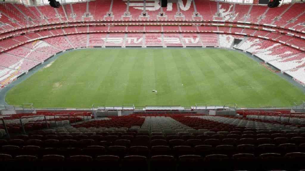 El Estadio Da Luz del Benfica. Foto: slbenfica.pt
