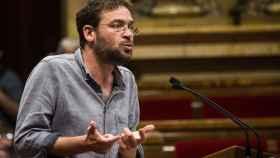 Albano Dante Fachin en el Parlament.