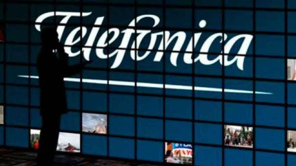 El logo de Telefónica, en una imagen de archivo.
