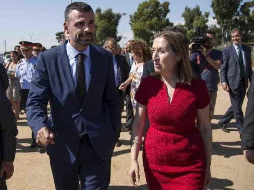 Cuando Ana Pastor era ministra de Fomento, y Vila su homónimo en Cataluña, ambos fraguaron una buena relación.