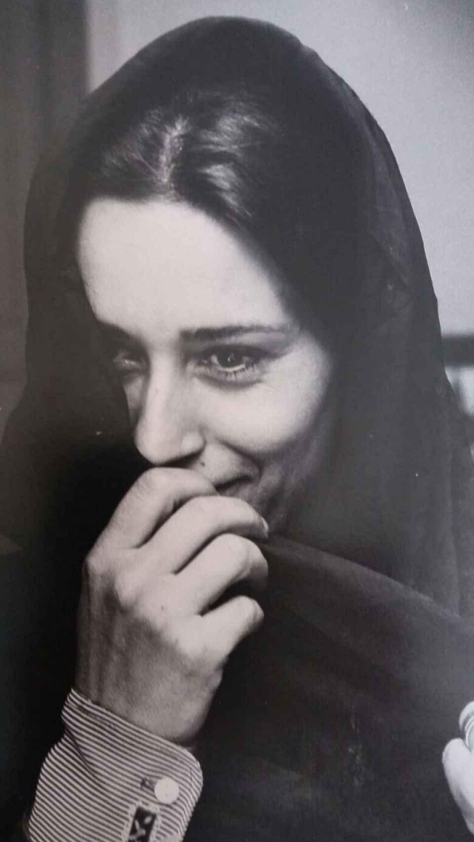 Isabel Quintanilla, años setenta.