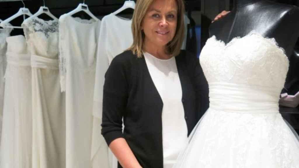 La empresaria y diseñadora de vestidos de novia, Rosa Clará