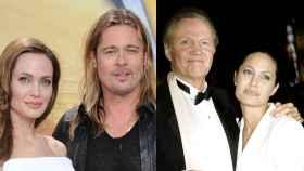 Brad Pitt tiene el mismo color de ojos que John Voight, padre de Angelina Jolie.