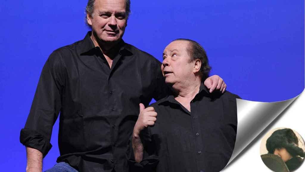 Bertín y Arévalo juntos en una imagen de archivo.
