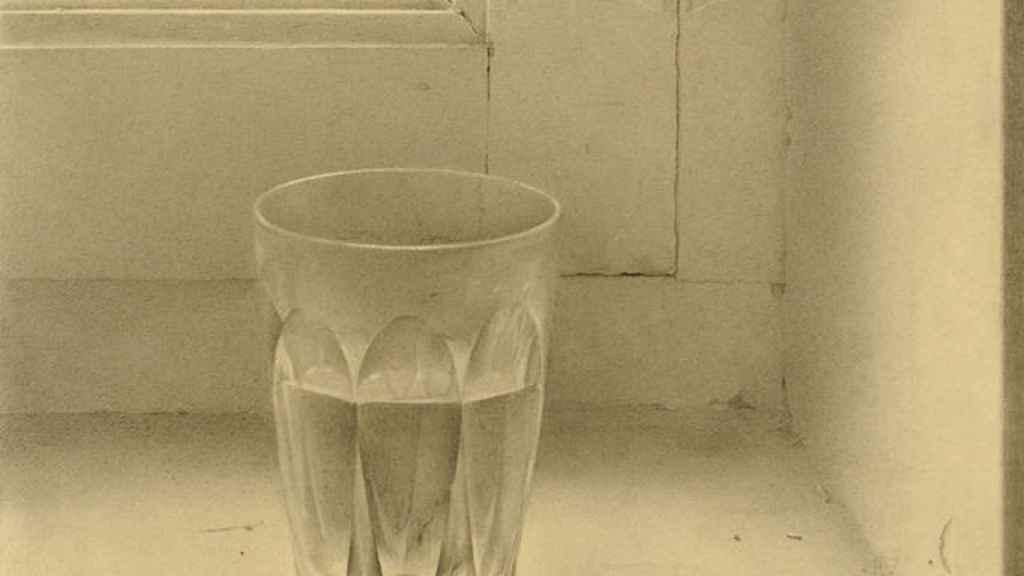 El vaso de Isabel Quintanilla, pintado en 1969.
