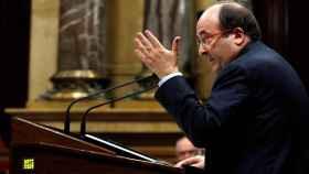 Miquel Iceta, el pasado jueves en el Parlament