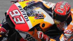Marc Márquez (Repsol Honda) en el Circuito Internacional de Sepang este sábado.
