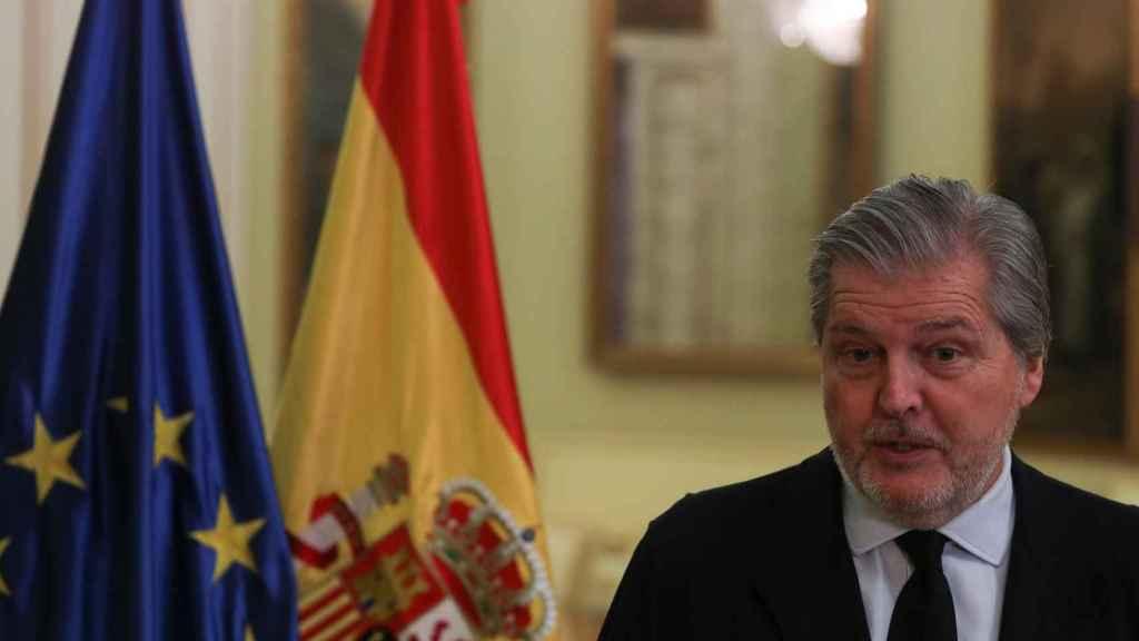 Íñigo Méndez de Vigo, portavoz del Gobierno. Foto: Reuters