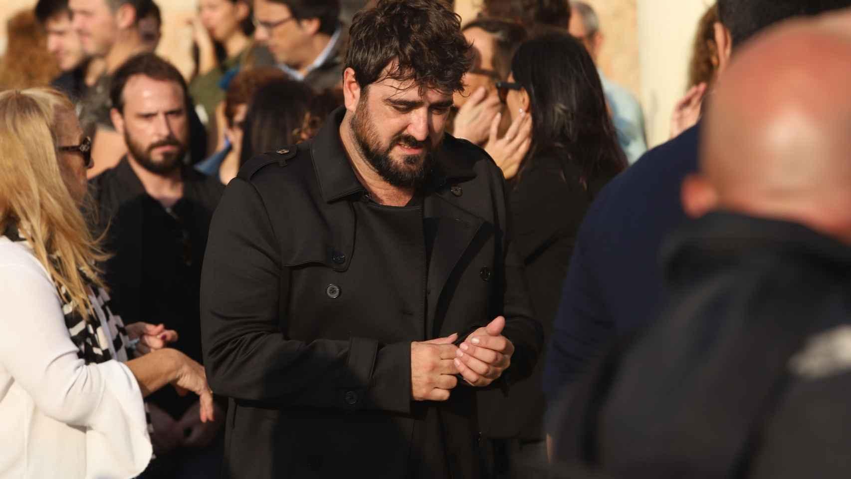 Imágenes del funeral de Susana Prat