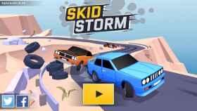 Carreras de coches y derrapes, la combinación explosiva de SkidStorm