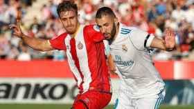 Benzema, en el Girona-Real Madrid