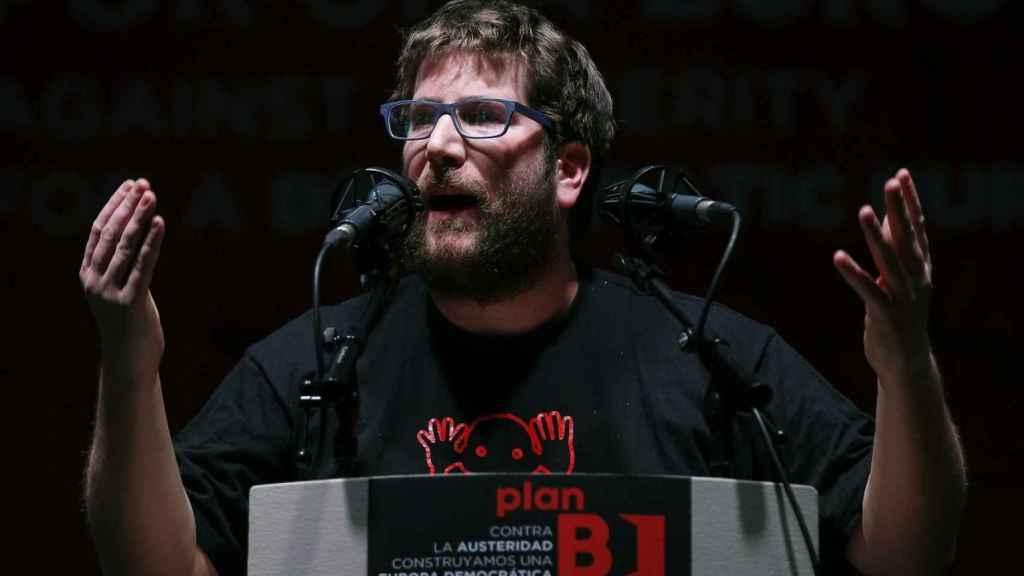 Miguel Urban, miembro del sector anticapitalista de Podemos.