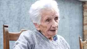 Guiseppina Fattori, desahuciada con 95 años.