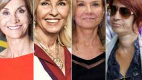 Helena Revoredo, Hortensia Herrero, Alicia Koplowitz y Sandra Ortega,