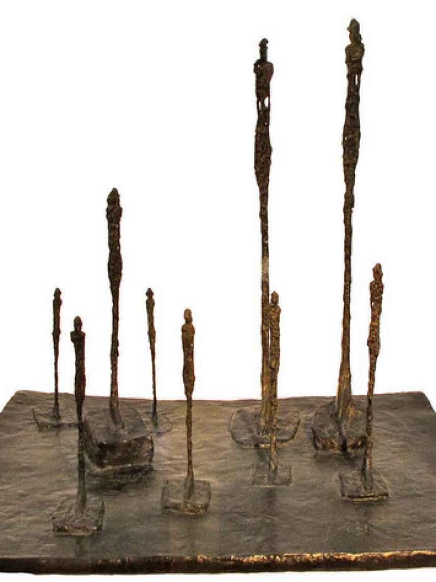 La obra The Glade estará depositada durante un año en el Museo Nacional Thyssen.