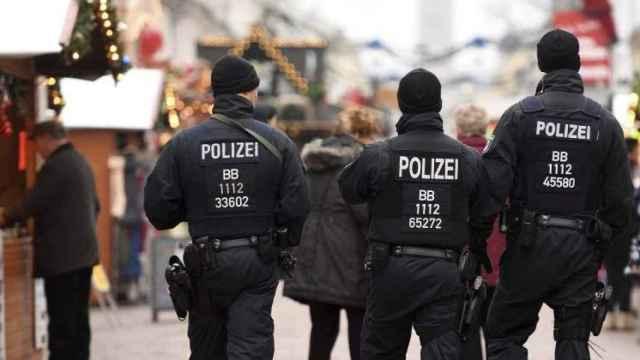 Policía alemana en una imagen de archivo.