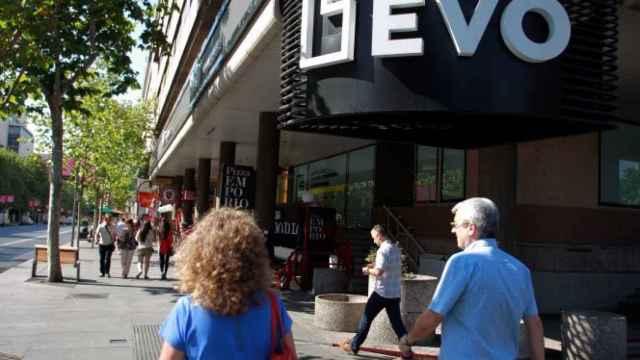 Una sucursal de Evo Banco en Madrid.