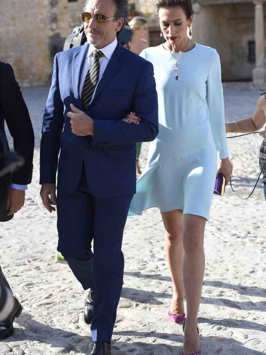 Marco Severini y Nieves Álvarez antes de su separación.