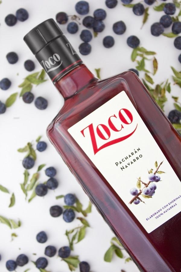 Zoco nueva botella y endrinas