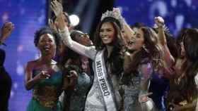 La nueva Miss Perú, Romina Lozano.