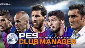 PES 2018 para Android llega con los juegos Card Collection y Club Manager