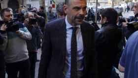 Santi Vila, este lunes en Barcelona.