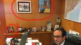 Pistas de la huida belga de Puigdemont en Twitter.