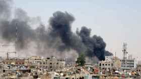 Explosiones en Damasco.
