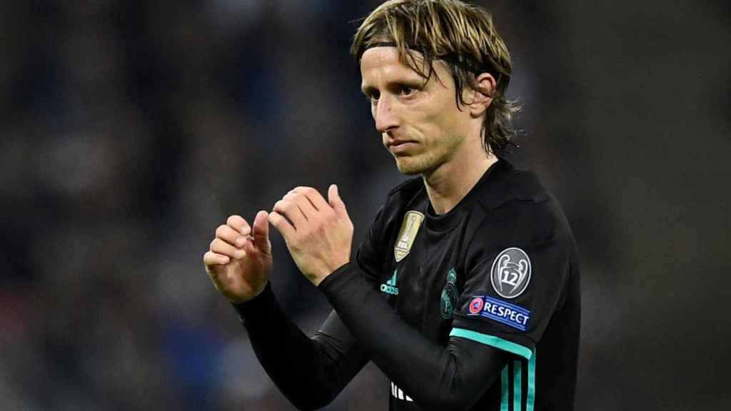 Modric, otro de los futbolistas que han decaído en estos últimos partidos.